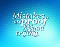 Inspirierend Motivierung-Anführungsstrich Lizenzfreie Stockfotos