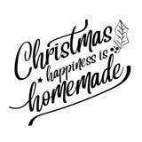 Inspirierend Weihnachtszitat lizenzfreie abbildung
