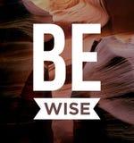 Inspirierend Zitat, Motivation und Inspiration stock abbildung
