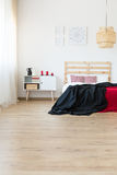 Inspiring bedroom idea Royalty Free Stock Images