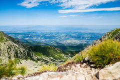 Inspiring Mountains Landscape View in Tatra Mountains Royalty Free Stock Image