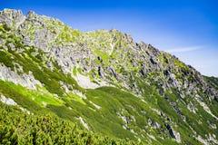 Inspiring Mountains Landscape View in Tatra Mountains Stock Photos