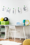 Inspiring space for teenagers and kids Stock Images