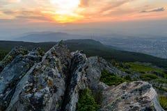 Inspiring sunset Royalty Free Stock Photography