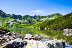 Inspiring Tatra Mountains Landscape View Royalty Free Stock Photos