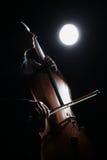 Inspirowana muzyk sztuki piękna fotografia Fotografia Stock