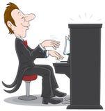 Pianista Fotografia Stock