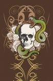 inspirowany tatuaż Zdjęcie Royalty Free