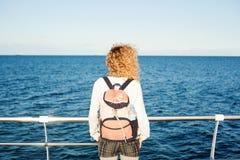 Inspirujący morzem Obraz Stock