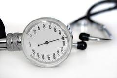 Insrument di pressione sanguigna Fotografie Stock