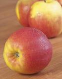 inställda äpplen Arkivfoto