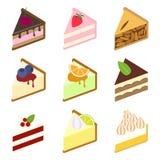 inställda cakes Arkivfoton