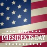 inställda dagsymbolspresidenter Presidentdagvektor Presidentdagteckning P Royaltyfria Foton