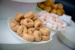 inställda donuts Arkivbilder