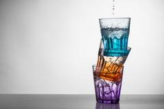 inställda exponeringsglas arkivbild