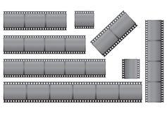 inställda filmstrips royaltyfri illustrationer