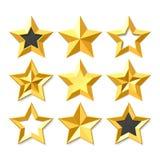 Inställda guldstjärnor Arkivfoton