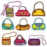 inställda handväskor