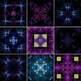 Inställda Kaleidoscopes Royaltyfria Foton