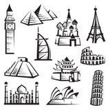 inställda landmarks