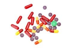 inställda pills arkivfoton
