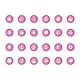 inställda symboler Royaltyfria Foton