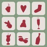 inställda symboler Fotografering för Bildbyråer