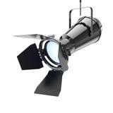 Inställer den moderna strålkastaren för metall från tak framförande 3d Royaltyfri Fotografi