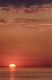 Inställning Sun Arkivbilder
