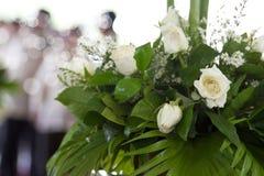 inställningsbröllop Fotografering för Bildbyråer