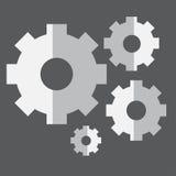 Inställningssymbol Arkivbild