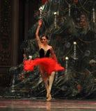 Inställt i luft-godis den felika dansen - balettnötknäpparen Fotografering för Bildbyråer