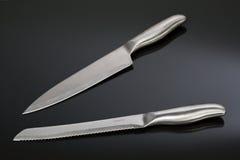 inställda knivar Royaltyfri Bild