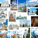 inställda kyrkor Royaltyfri Foto