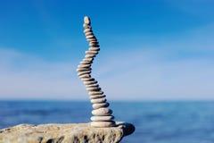 instabil equilibrium arkivbild