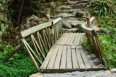 Instabile Brücke Lizenzfreies Stockfoto