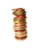 Instabiles Geld Stockfotos