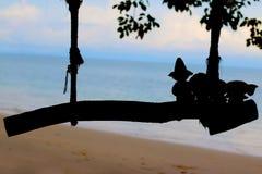Instabilità della spiaggia Fotografie Stock Libere da Diritti