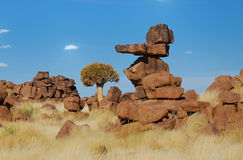 Instable Rock Formation stock image