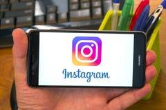 Instagram foto de archivo