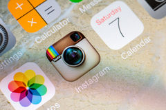 Instagram Application Stock Photo
