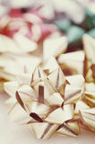 Instagram Christmas Bows Royalty Free Stock Images
