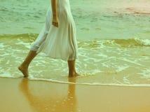Instagram colorized des jambes de femelle de vintage Photo stock