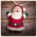 Instagram di Santa Claus Fotografia Stock