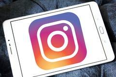 Instagram logo Arkivbilder