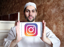 Instagram-Logo Stockbild