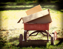Instagram Red Wagon Stock Photos