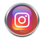 Instagram sign Royalty Free Stock Image