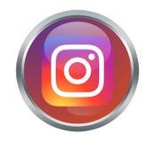 Instagram-Zeichen Lizenzfreies Stockbild