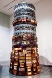 A instalação criada por rádios velhos fotografia de stock